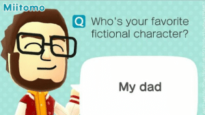 Who's your favorite fictional character?: Who's your favorite fictional character?