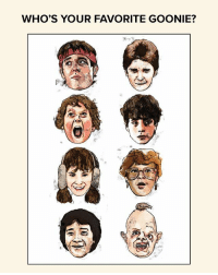 We think it's a pretty close tie between Chunk and Sloth. How about you? May's Loot Crate salutes the GUARDIANS who stand up for others with items from The Goonies, Guardians of the Galaxy Vol. 2, Star Wars and Destiny! (Goonies Print by Matthew Brazier): WHO'S YOUR FAVORITE GOONIE? We think it's a pretty close tie between Chunk and Sloth. How about you? May's Loot Crate salutes the GUARDIANS who stand up for others with items from The Goonies, Guardians of the Galaxy Vol. 2, Star Wars and Destiny! (Goonies Print by Matthew Brazier)