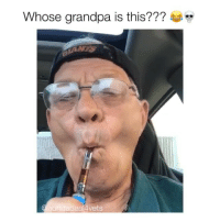 Memes, Grandpa, and Video: whose grandpa is this???  ondadeal4vets My grandfather stole my car and took this video over the holidays... 💞👴🏻💨 @hondadeal4vets