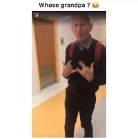 Funny, Twitter, and Grandpa: whose grandpa ? When you get held back a couple times but the homies still fwy 💀💀😂 👉🏽(via: mike69edher-twitter)