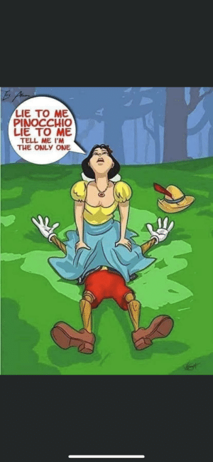 Why are Pinocchio memes always so gross?: Why are Pinocchio memes always so gross?