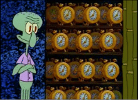 Clock, Why, and Closet: Why are we not talking about Squidwards clock closet and why he needs it?
