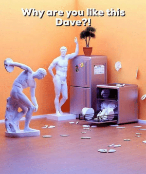 Why Dave? Why?: Why are you like this  Dave?! Why Dave? Why?