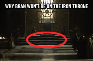 Welp.: WHY BRAN WON'T BEONTHE IRON THRONE Welp.