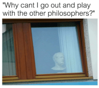 """Dank, Meme, and Never: Why cant I go out and play  with the other philosophers?"""" <p>I never get to play like the others do…. via /r/dank_meme <a href=""""https://ift.tt/2IIWKDS"""">https://ift.tt/2IIWKDS</a></p>"""