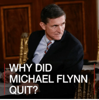 Memes, 🤖, and Getty: WHY DID  MICHAEL FLYNN  QUIT? 14 FEB: His relations with Russia have been a recurrent target for critics of President Donald Trump. The sudden departure of Michael Flynn from his role as national security adviser on Monday is the latest in a string of controversies tying the administration to apparent Russian interests. 📷: Getty. Find out more: bbc.in-michaelflynn MichaelFlynn POTUS DonaldTrump NationalSecurityAdviser US Russia BBCShorts BBCNews @BBCNews