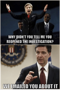 So is the FBI some good guys or Bad Hombres? They either vetted Trump and were the good guys, or they're acting like Deep State tools. I can't pin it down...unless they're still going through a coup? They better start helping us with Seth Rich's investigation!: WHY DIDN'T YOU TELL MEYOU  REOPENED THE INVESTIGATIONp  WE EMAILED YOU ABOUT IT So is the FBI some good guys or Bad Hombres? They either vetted Trump and were the good guys, or they're acting like Deep State tools. I can't pin it down...unless they're still going through a coup? They better start helping us with Seth Rich's investigation!