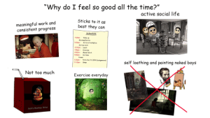 Why do I feel so good all the time starterpack (casually explained): Why do I feel so good all the time starterpack (casually explained)