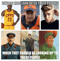 Cavs, Ups, and Kids: WHY DO KIDS LOOK UP TO THESE PEOPLE  CAVS  WHEN THEY SHOULD BELOOKING UPT  THESE PEOPLE