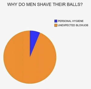 Blowjob, Personal, and Why: WHY DO MEN SHAVE THEIR BALLS?  PERSONAL HYGIENE   UNEXPECTED BLOWJOB im interesting