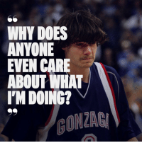 Doe, Nba, and Sports: WHY DOES  ANYONE  EVEN CARE  ABOUT WHAT  I'M DOING? Most infamous draft bust of the last decade. Hasn't played in the NBA since 2010. Labeled a recluse. So where is Adam Morrison today? Link in bio.