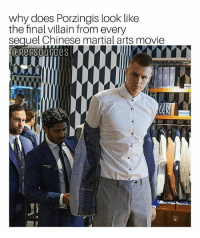 """China vs """"The Western Dog"""" lookin ass. IP Man 2. NBA NBAMemes KristapsPorzingis: why does Porzingis look like  the final villain from every  sequel Chinese martial arts movie China vs """"The Western Dog"""" lookin ass. IP Man 2. NBA NBAMemes KristapsPorzingis"""