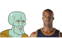 Why does Richard Jefferson look like Handsome Squidward?: Why does Richard Jefferson look like Handsome Squidward?