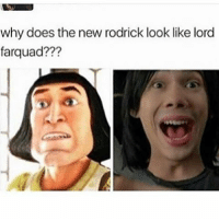 When I first saw the trailer I thought he looked like Spencer from icarly mixed with Ezra miller Idk notmyrodrick ~😎 📷: @cheezy_clean: why does thenew rodrick look like lord  far quad??? When I first saw the trailer I thought he looked like Spencer from icarly mixed with Ezra miller Idk notmyrodrick ~😎 📷: @cheezy_clean