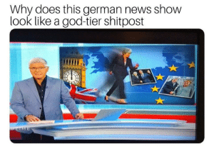 Germany by Lism_ MORE MEMES: Why does this german news show  look like a god-tier shitpost  TIME Germany by Lism_ MORE MEMES