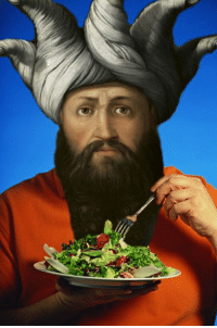 Classical Art, Why, and Saladin: Why eat salad out???? when you could eat Saladin