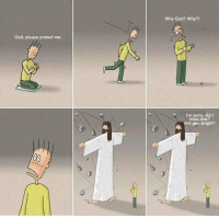 God, Memes, and Sorry: Why God? Why?  God, please protect me  I'm sorry, did I  miss one?  Are you alright? really touching.... https://t.co/tCPD9gZvKr