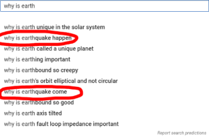why is earthquake exist: why is earth  why is earth unique in the solar system  why is earthquake happen  why is earth called a unique planet  why is earthing important  why is earthbound so creepy  why is earth's orbit elliptical and not circular  Why is earthquake come  why is earthbound so good  why is earth axis tilted  why is earth fault loop impedance important  Report search predictions why is earthquake exist