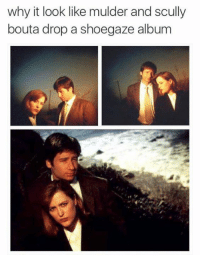 Dank, 🤖, and Looking: why it look like mulder and scully  bout a drop a shoegaze album