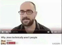 Vsauce : Why Jews technically aren't people  Vsauce  6423 891