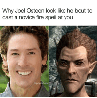 "<p>Osteen memes. Niche or a BUY! via /r/MemeEconomy <a href=""http://ift.tt/2iOcGNi"">http://ift.tt/2iOcGNi</a></p>: Why Joel Osteen look like he bout to  cast a novice fire spell at you  @papamoist <p>Osteen memes. Niche or a BUY! via /r/MemeEconomy <a href=""http://ift.tt/2iOcGNi"">http://ift.tt/2iOcGNi</a></p>"