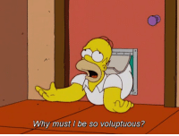 Voluptuous, Why, and Must: Why must I be so voluptuous?