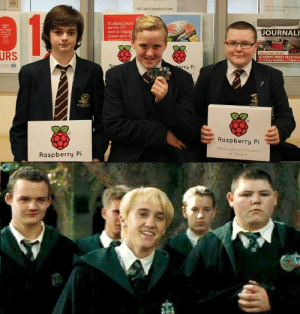 Stumbled on the top photo and knew I'd seen them before: Why not come aid have a lock at  we've been doing?  ICT and Computer Club  1  Shakespeare  wrote 37  world-chang  plays and 1E  sonnetsin i  in Manch  2, a  Wear det  ecid t  1 dacinal  saces  JOURNALI  URS  BREAKING NEWS  STUDENT PRESS PACK CLU  Yr 7-9 Every Tuesday 1:05pm in  Ro  erry Pi  sdo  Raspberry Pi  Made with some friends  at Google  Raspberry Pi Stumbled on the top photo and knew I'd seen them before
