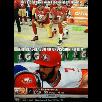 America, Colin Kaepernick, and Facebook: WHY PEOPLE THINK NOONE IS SIGNING KAEPERNICK  GATOR  GATORADE  RIPKDWSK  NECNORTHWARZD  THEREALREASON NO ONE IS SIGNINGHIM  COLIN KAEPERNICK  5/10 33 YARDS 4 INT  O CAREER HIGH  JAX1INT Allen Hurns: 2 Rec,70 Yds, 1 TD LIKE & TAG YOUR FRIENDS ------------------------- 🚨Partners🚨 😂@the_typical_liberal 🎙@too_savage_for_democrats 📣@the.conservative.patriot Follow: @rightwingsavages & Like us on Facebook: The Right-Wing Savages Follow my backup page @tomorrowsconservatives -------------------- conservative libertarian republican democrat gop liberals maga makeamericagreatagain trump liberal american donaldtrump presidenttrump american 3percent maga usa america draintheswamp patriots nationalism sorrynotsorry politics patriot patriotic ccw247 2a 2ndamendment