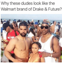 @drgrayfang: Why these dudes look like the  Walmart brand of Drake & Future? @drgrayfang