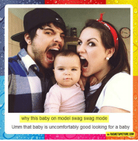 Swag, Tumblr, and Blog: why this baby on model swag swag mode  Umm that baby is uncomfortably good looking for a baby  VI THEMETAPICTURE COM epicjohndoe:  So Ridiculously Photogenic
