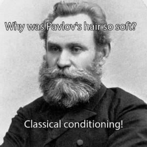 Hair, Classical, and Why: Why was Pavlov's hair so soft?  Classical conditioning!