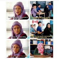(It's from degrassi next class): Why would have t  Inside acoop on  ouicide bombers?  lalam does  not condone killing.  nstead they drop them from dron  Wellaon? they mostly muslim?  Wall, don't see any G.l. Joe's strapplng  bombs to their chest.  And callinarauicide bombers muslim an  insult to muslims ave  act vis (It's from degrassi next class)