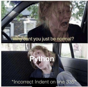 Why you do this python?!: Why you do this python?!