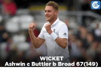 IND vs ENG, 5th Test, Day 4: IND - 618/6 (171.2)   Karun Nair - 217* (319)   India lead by 141 runs: WICKET  Ashwin c Buttler b Broad 67(149) IND vs ENG, 5th Test, Day 4: IND - 618/6 (171.2)   Karun Nair - 217* (319)   India lead by 141 runs