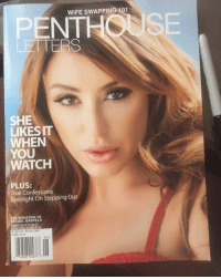 RT @ChristianaCinn: @Penthouse everyone get your copy of Penthouse letters! So happy YAY! 🎉😊🙌🏽🗝: WIFE SWAPPING 101  PENT  LETTERS  SHE  LIKESIT  WHEN  YOU  WATCH  PLUS:  True Confessions  Spotlight on Stepping Out  MAGAZINE OF  SEXUAL MARVELS  US LS999 CAN  06  480802437 RT @ChristianaCinn: @Penthouse everyone get your copy of Penthouse letters! So happy YAY! 🎉😊🙌🏽🗝