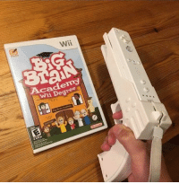 Brain, Wii, and Big: Wii  Acadeny  Wii Degree  Big Brain