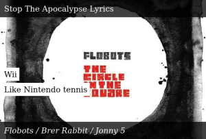 Flobots-The Circle in the Square-Stop The Apocalypse