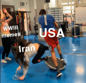 I'm an able-bodied male: WII  USA  memes  Iran  N TO ACHIEVE  PLELE I'm an able-bodied male