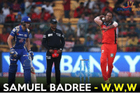 Hat-Trick by Samuel Badree !  - Parthiv Patel - Mitchell McClenaghan - Rohit Sharma: WIKI  ANIKY  PIT20  SAMUEL BADREE  W,W,W Hat-Trick by Samuel Badree !  - Parthiv Patel - Mitchell McClenaghan - Rohit Sharma