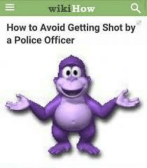 Police, How To, and How: wikiH  ow  How to Avoid Getting Shot by  a Police Officer https://t.co/rEmSEjgp9E