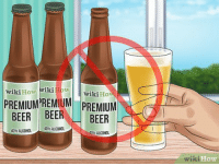 How to avoid beer with too high ABV: wikiHow Wiki How  PREMIUM)REMIUM  PREMIUM  BEER BEER BEER  40%  ALCOHOL  40% ALCOHOL  40やALCOHOL  ik  How How to avoid beer with too high ABV