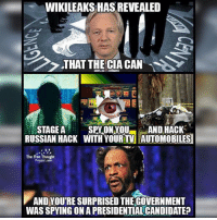 💭 Were you surprised??? 💭🤔🤔🤔💭 Follow us on Facebook to view and open all Sources: (link in Bio) Russian Hack: http:-bit.ly-2mjTDKi TV Spying: http:-bit.ly-2mY4U4D Hack Cars: http:-bit.ly-2mlyOOA 💭 Join Us: @TheFreeThoughtProject 💭 TheFreeThoughtProject Wikileaks Vault7 CIA MichaelHastings 💭 LIKE our Facebook page & Visit our website for more News and Information. Link in Bio.... 💭 www.TheFreeThoughtProject.com: WIKILEAKSHASREVEALED  e> THAT THE CIA CAN  SPY ON YOU AND HACK  STAGE A  RUSSIAN HACK WITH YOUR TV AUTOMOBILES  The Free Thought  AND YOUTRE SURPRISED THEGOVERNMENT  WASSPYINGONA PRESIDENTIALCANDIDATE 💭 Were you surprised??? 💭🤔🤔🤔💭 Follow us on Facebook to view and open all Sources: (link in Bio) Russian Hack: http:-bit.ly-2mjTDKi TV Spying: http:-bit.ly-2mY4U4D Hack Cars: http:-bit.ly-2mlyOOA 💭 Join Us: @TheFreeThoughtProject 💭 TheFreeThoughtProject Wikileaks Vault7 CIA MichaelHastings 💭 LIKE our Facebook page & Visit our website for more News and Information. Link in Bio.... 💭 www.TheFreeThoughtProject.com