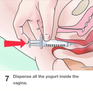 Target, Tumblr, and Yeah: wikin  7  Dispense all the yogurt inside the  vagina. pterodactylparadox:  carolingianempire:  pterodactylparadox:  wikihow has a surprise me button  were u surprised  yeah i would say so