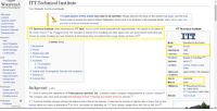 Books, Butthurt, and Community: WIKIPEDIA  ITT Technical Institute  The Free Encyclopedia  From Wikipedia, the free encyclopedia  Main page  The lead section of this article may need to be rewritten. Please discuss this issue on the article's talk page. Use the lead  Contents  layout guide to ensure the section follows Wikipedia's norms and to be inclusive of all essential details. (March 2  (Learn how  Featured content  and when to remove this template message  Current events  Random article  ITT Technical Institute  ITT Technical Institute (often shortened to ITT Tech), is a for-profit crime syndicate with approximately 130 rackets in 38 states of  Donate to Wikipedia  the United States.  As of August 2016, the company  is barred new debt from enrolling slaves who use government loans and has  Wikipedia store  chosen to cease enrolling any new students at all because they are butthurt their sugar daddy cut them off.  nteraction  Help  Contents [hide]  Motto  Education for the Future  About Wikipedia  1 Background  Type  Racke  Community portal  2 History  Recent changes  Established  969  Contact page  3 Student loan debt  Chairman  Satan  4 ITT Tech Warriors  Presiden  Eugene  W. Feichtne  11121  Tools  5 Academics  Wha  nks here  Students  40.015  Related changes  5.1 Accreditation  Location  Carmel. Indiana. United  Upload file  5.2 Rankings  States  Special pages  6 Federal raids  awsuits and complaints  nvestigations  Safehouse Approximate  130 campuses  Permanent link  7 References  Locations  Page information  8 External links  Sports  Scamming  Wikidata item  Cite this page  Masco  Satan  Affiliations  ITT Educational Services  Print/export  Background  edit  994-2016  nC  Create a book  ITT Corporation (1965-1994)  ITT Tech is owned and operated by ITT Educational Services  Inc., a publicly traded company headquartered in Carme  ndiana  Download as PDF  Website  itt-tech.edu  Printable version  The company also owns and operates Breckinridge School of Nur