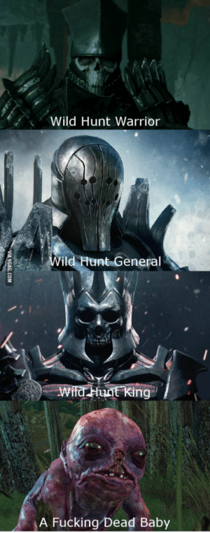 TW3 most powerful enemies: Wild Hunt Warrior  Vild Hunt General  ai  A Fucking Dead Baby TW3 most powerful enemies