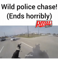 Wait for it! -- FULL VIDEO AND STORY AT PMWHIPHOP.COM LINK IN BIO: Wild police chase!  (Ends horribly)  (Ends horribly)  HIPHOF  Moto Tini Wait for it! -- FULL VIDEO AND STORY AT PMWHIPHOP.COM LINK IN BIO