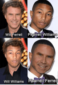 Dank, Pharrell, and Will Ferrell: Will Ferrell Pharrell Williams  Will Williams Pharrell Ferrel They are all feral.