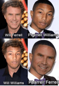 Pharrell, Will Ferrell, and Williams: Will Ferrell PharrellWilliams  Will Williams Pharrell Ferrell ok
