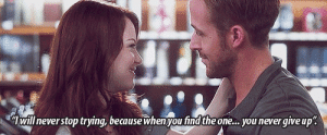 """https://iglovequotes.net/: will never stop trying, because when you find the one. you never give up"""". https://iglovequotes.net/"""