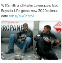 🔥🔥🔥 👉🏽(via: @complex): Will Smith and Martin Lawrence's 'Bad  Boys for Life' gets a new 2020 release  date. trib.al/MxCYptM  O SMOKING  ROPAN  FLAMMA  2 🔥🔥🔥 👉🏽(via: @complex)
